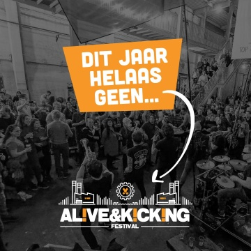 GEEN ALIVE & KICKING FESTIVAL IN 2020